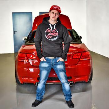 "Simon Motorsport Dubai Hoodie ""Petrol Junkie"""