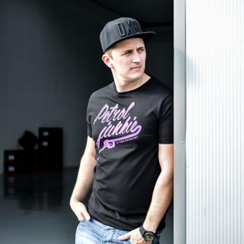 """Simon Motorsport Dubai T-Shirt """"Petrol Junkie"""""""