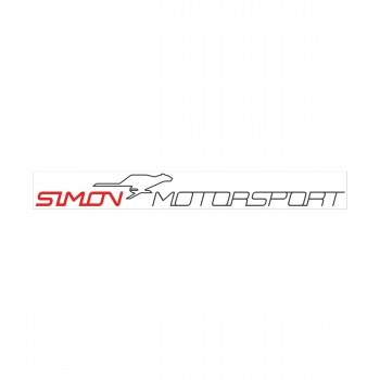 "Simon Motorsport Dubai Sticker ""Simon Motorsport Classic"""