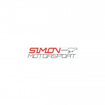 "Simon Motorsport Dubai Sticker ""Simon Motorsport Small"""