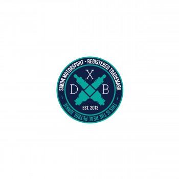 "Simon Motorsport Dubai Sticker ""SMN MTRSPRT - DXB"""
